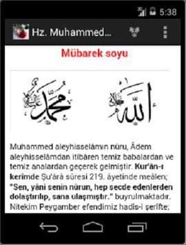 Hz. Muhammed Peygamber Efendim screenshot 2