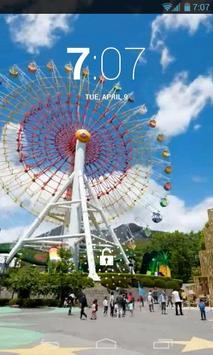 Ferris Wheel Live Wallpaper poster