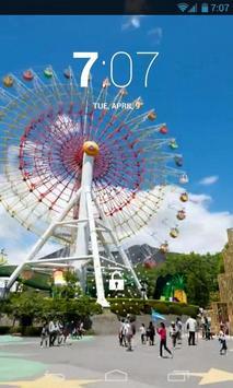 Ferris Wheel Live Wallpaper apk screenshot