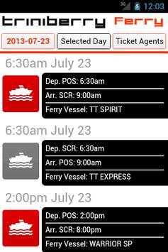 Trinidad & Tobago Ferry poster