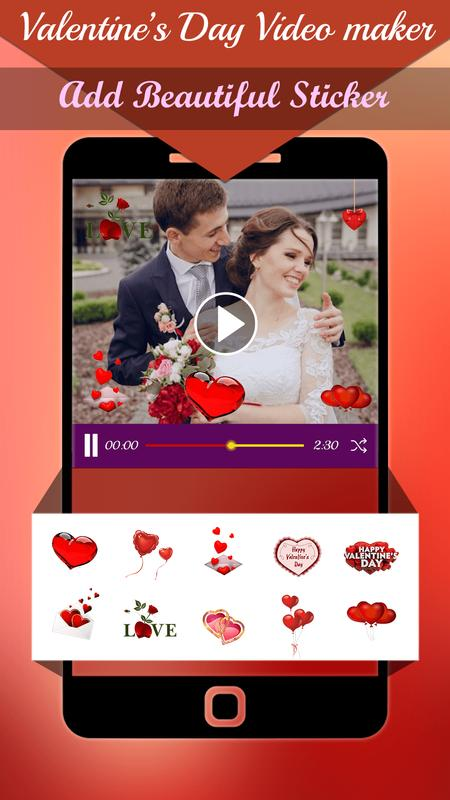 valentine day slideshow video maker 2018 apk