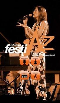 Bolivia Festijazz-2015 poster