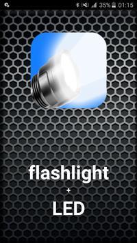 Flashlight+ LED poster