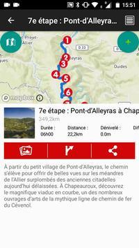GR470 Sources et gorges de l'Allier screenshot 4