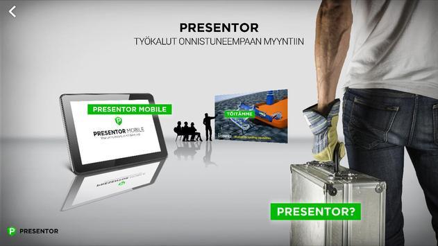 Presentor Mobile poster
