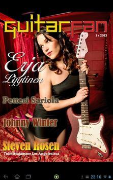 GuitarFan -lehti poster
