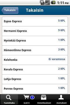 Onnshop Finland apk screenshot