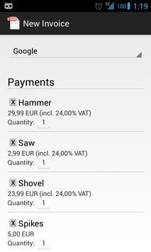 Invoice CRM Free screenshot 2