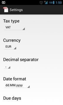 Invoice CRM Free screenshot 7