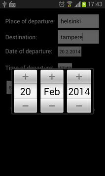 Bus Timetable (FINLAND ONLY) screenshot 1