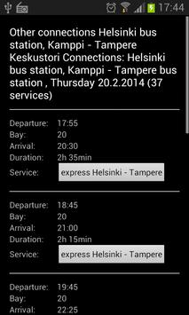 Bus Timetable (FINLAND ONLY) screenshot 2