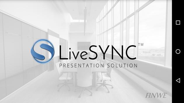 LiveSYNC poster