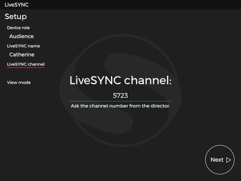 LiveSYNC Presentation Solution apk screenshot