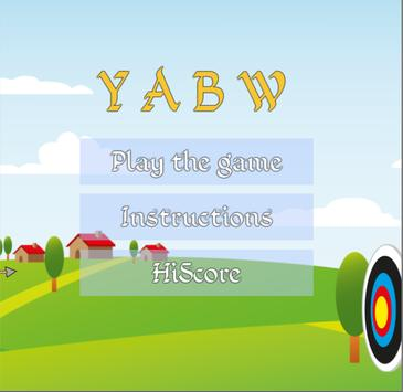 YABW - Yet another bow & arrow poster