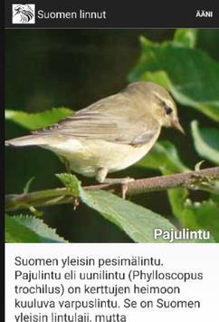 Suomen Linnut apk screenshot