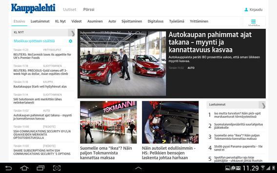 Kauppalehti apk screenshot
