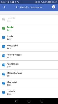 Train information display apk screenshot