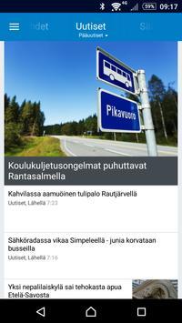 Itä-Savo poster
