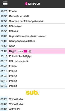 Iltapulu.fi TV-opas screenshot 1