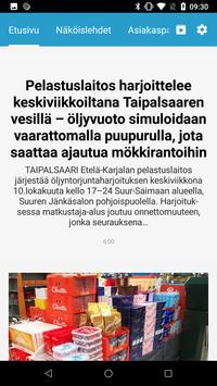 Länsi-Saimaan Sanomat poster