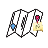 Map-based Notes icon