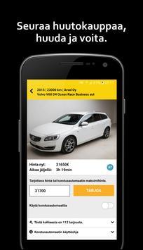 Autohuutokauppa apk screenshot