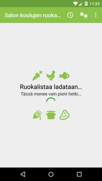 Salon koulujen ruokalista apk screenshot