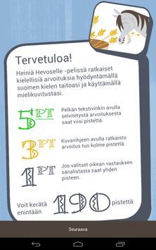 Heiniä Hevoselle apk screenshot