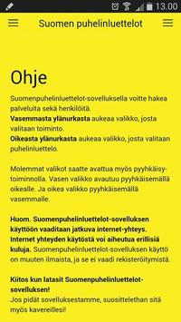Suomen Puhelinluettelot - Suomen Numerokeskus Oy poster