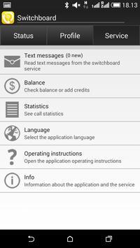 The SwitchBoard apk screenshot