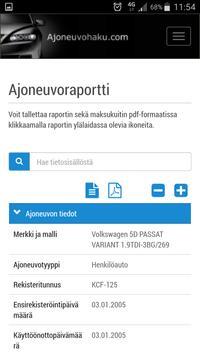 Ajoneuvohaku.com apk screenshot