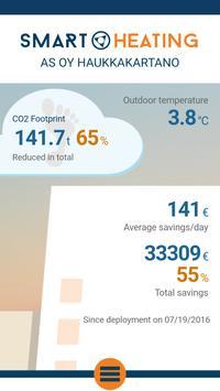 Smart Heating App poster