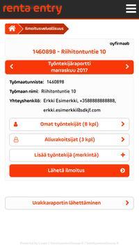 Renta Entry apk screenshot