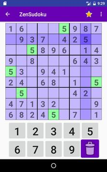 ZenSudoku apk screenshot