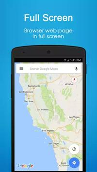 4G browser apk screenshot