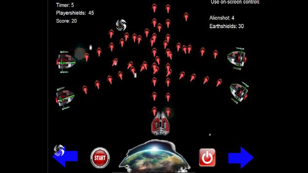 Aliens strike to Earth apk screenshot