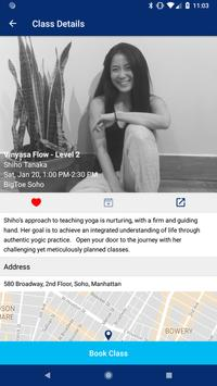 Bigtoe: Book Yoga classes, Massage sessions & more screenshot 1