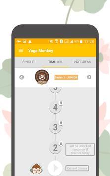Yoga Monkey Free Fitness L1-10 screenshot 2