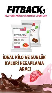 FITBACK İdeal Kilo Hesaplama poster