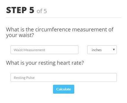 Fitness Age Calculator screenshot 4