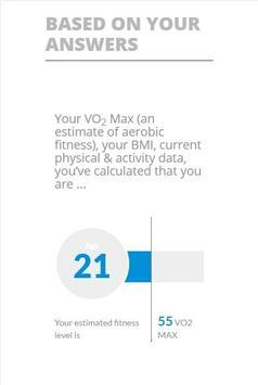 Fitness Age Calculator screenshot 5