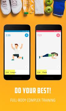 30 day Fitness Workout- Fitness Challenge screenshot 1