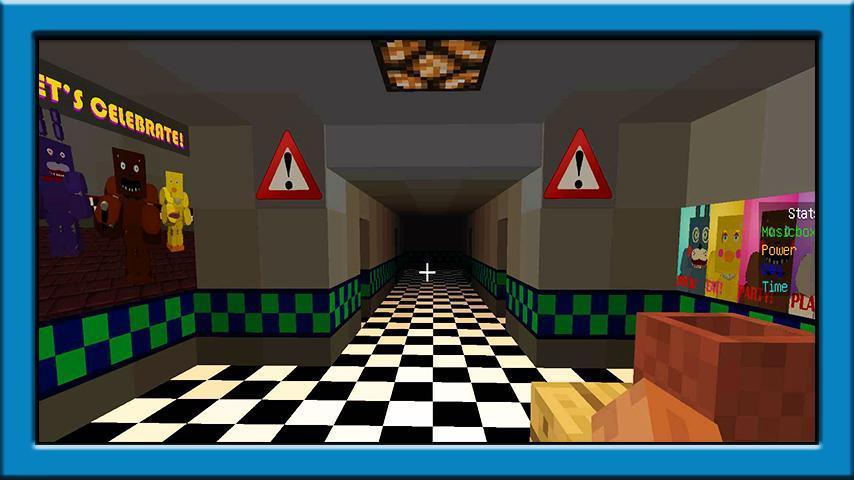игры майнкрафт 5 ночей в шахте #8