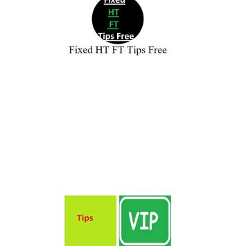 Fixed HT FT Tips Free poster