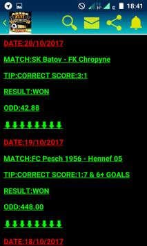 FIXED MATCHES screenshot 2