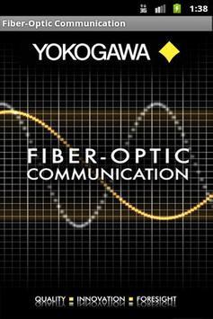 Fiber-Optic Communication poster