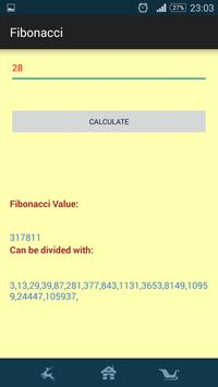 Fibonacci Numbers screenshot 1