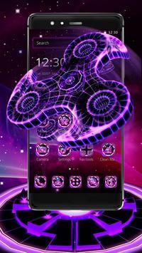 Fidget Spinner Neon Theme screenshot 4