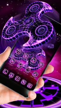 Fidget Spinner Neon Theme screenshot 5