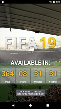 Countdown to FIFA 19 poster